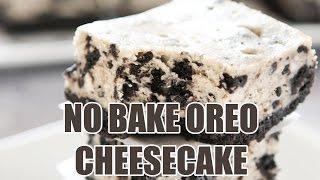 Tony Rican's No Bake Oreo Cheesecake