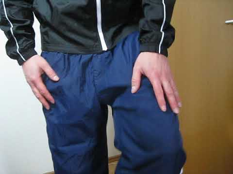 Adidas boy cal surf Nylon Polyamid glänzende Jogginghose sweatpants Track Pants 尼龙运动裤 (19)