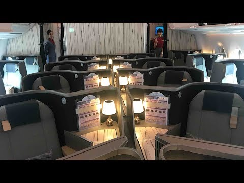 Flight Report TPE-FCO China Airlines Business Class A350-900 (Taipei to Rome)