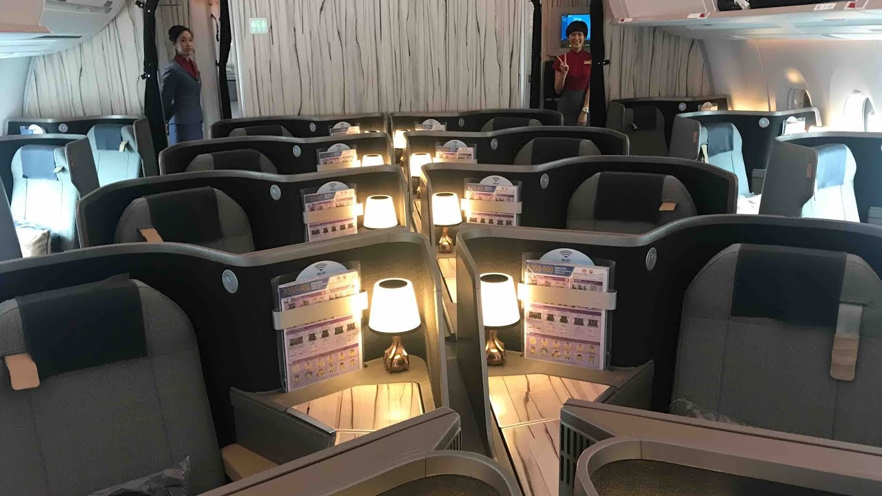 Flight Report Tpe Fco China Airlines Business Class A350