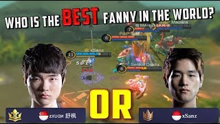 Zxuan, xSanz or Konoha? WORLD BEST FANNY - Mobile Legends