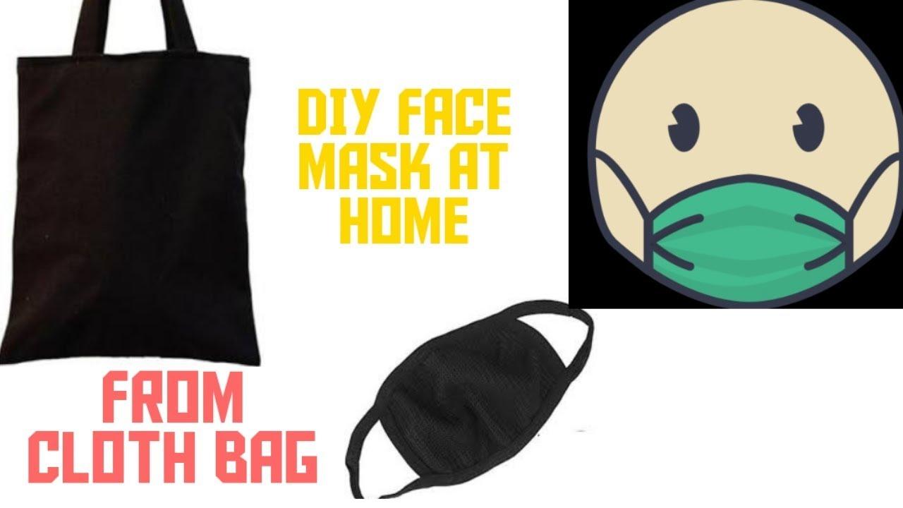 How to make mask at home / cloth bag mask / DIY mask /corona/ Handmade / art n craft ideas