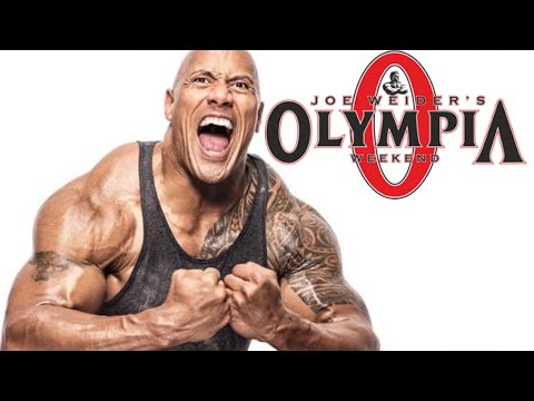 The Rock pretende fazer o maior Show de Bodybuilding do Mundo  Superar o Mr Olympia?