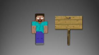 Minecraft - Scary Herobrine And Null Sightings!!!