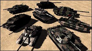 8 NATION MODERN TANK BATTLE - Modern Combat: Arena Gameplay