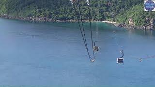 Cáp treo cột cao, dây cáp cực xa, mạo hiểm/Phu Quoc island