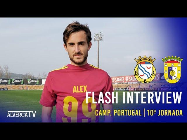 FC Alverca 1 - 0 U. Almeirim - Flash Interview