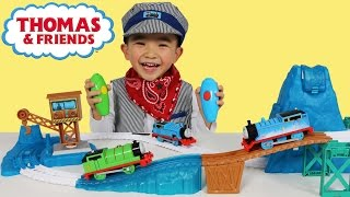 Thomas And Friends Snowy Mountain Rescue Set Unboxing Motorized Toy Train Track Ckn Toys