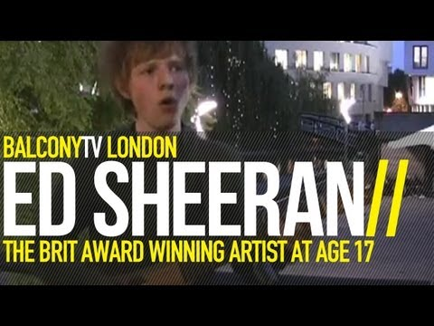 ED SHEERAN - THE CITY (BalconyTV)