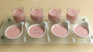 Strawberry Mousse How To Make Simple Delicious Recipe