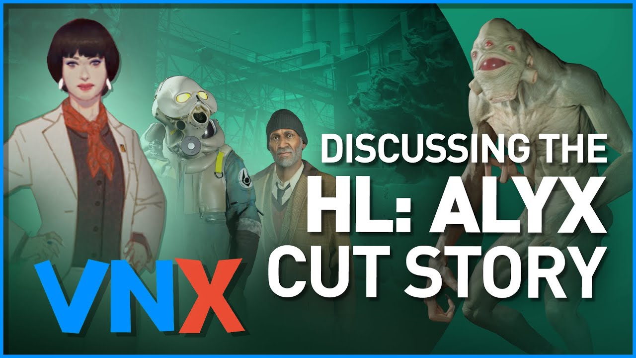 Discussing the Cancelled Half-Life Alyx Story