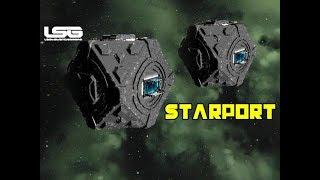 Cuboctahedron Coriolis Starport - Space Engineers