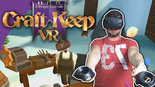 EN BUTIK I VR! - Craft Keep VR | HTC Vive | Dansk VR