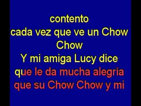 El Chow  Chow  -  Mojinos Escozios -  karaoke   Tony Ginzo