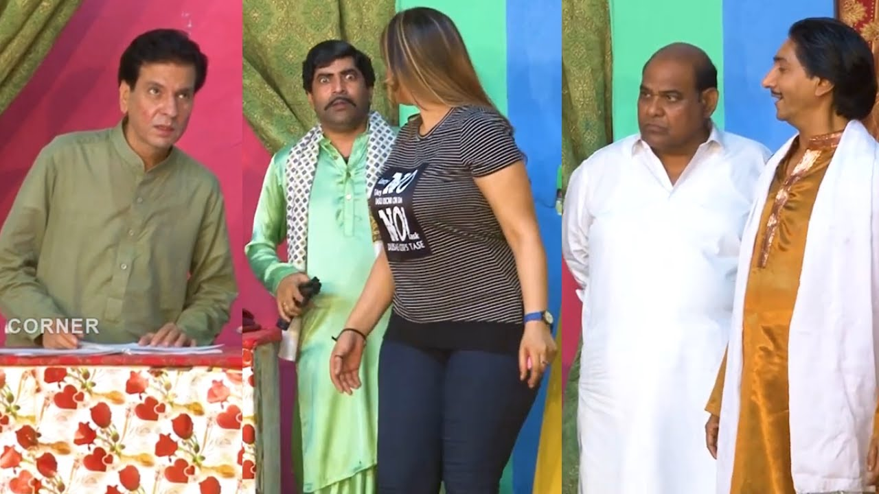 Download Sajan Abbas with Agha Majid and Sanam Chaudhry | Comedy Clip | Stage Drama 2021 | Punjabi Stage Dram