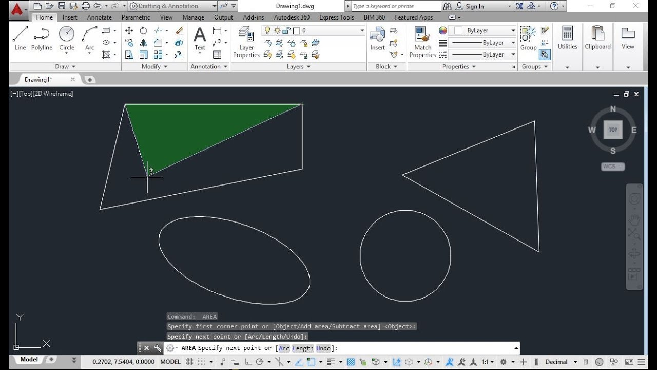 How To Calculate Area Of Irregular Shape In Autocad