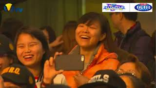 2017 China All-Star Volleyball Game YUAN Xinyue Fans Meeting Highlight Fragment 2