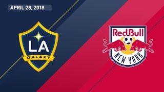 HIGHLIGHTS: LA Galaxy vs New York Red Bulls | April 28, 2018