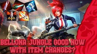 SMITE PTS - IS BELLONA JUNGLE NOW GOOD WITH ITEM CHANGES
