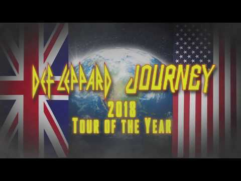 DEF LEPPARD – North American Tour w/ Journey On Sale Now
