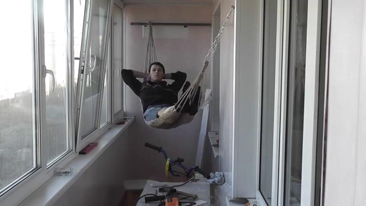 Гамак своими руками на балконе