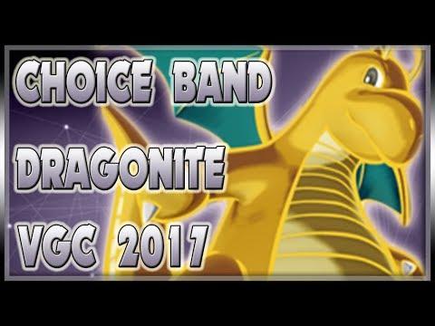 A DRAGON(ITE) WITH HIS BAND!   VGC 2017   Pokemon Sun & Moon LIVE VGC Wifi Battle Spot #110