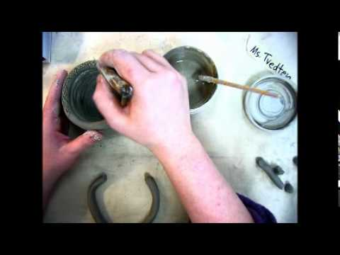 Creating a coil constructed piece of pottery in timelapse
