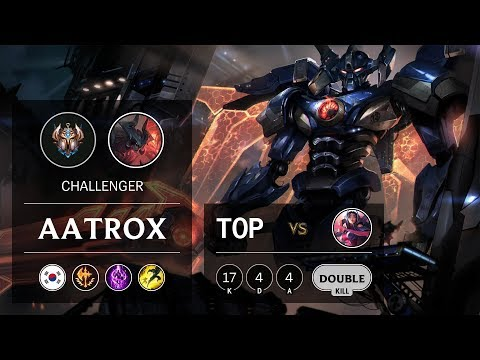 Aatrox Top vs Irelia - KR Challenger Patch 9.21