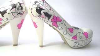 Tasarım Gelin Ayakkabısı özel -1