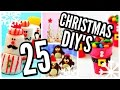 25 DIY Christmas Treats! Holiday Desserts, Cookies, Recipes, Food