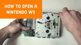 How to Open a Nintendo Wii for Repair