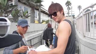 "[FANCAM] 130917 Lee Min Ho on ""The Heirs"" Set"
