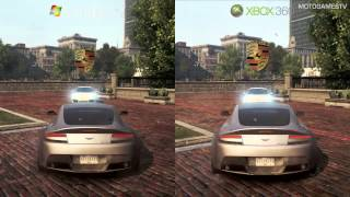 Need for Speed Most Wanted 2012 - PC vs Xbox 360 - Graphics Comparison