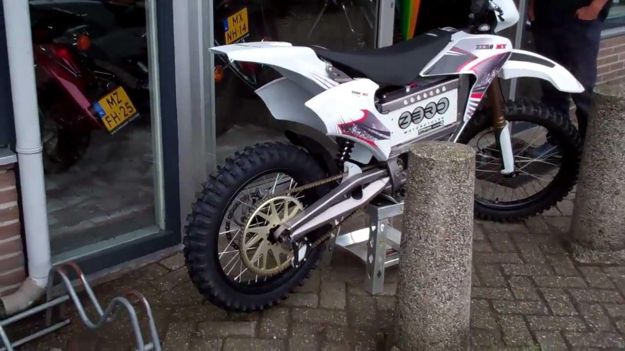 ZERO eXTreme MX 100% electric motor cycle . - YouTube