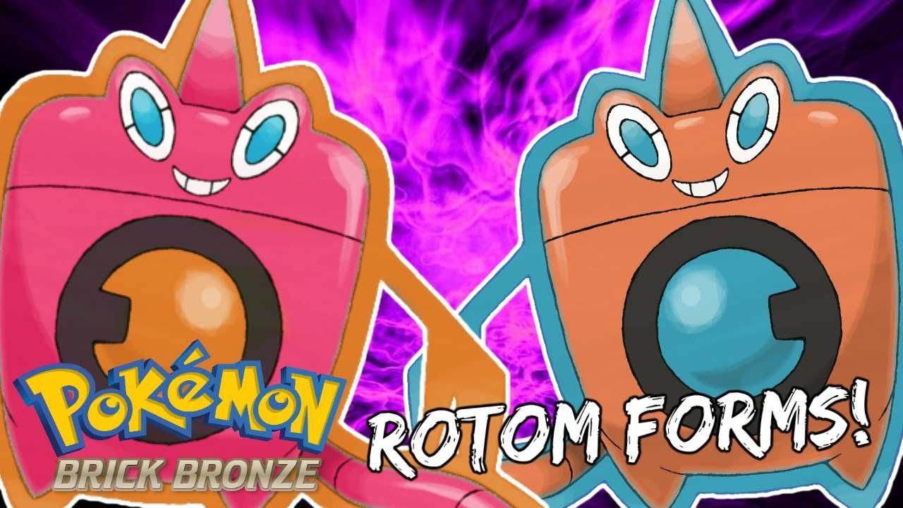 Pokemon Brick Bronze - How To Change Rotom's Form! - YouTube