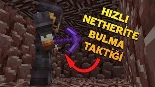 Minecraftta Hızlı Netherite Bulma Taktiği