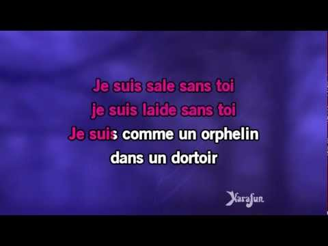 Karaoké Je Suis Malade - Dalida *