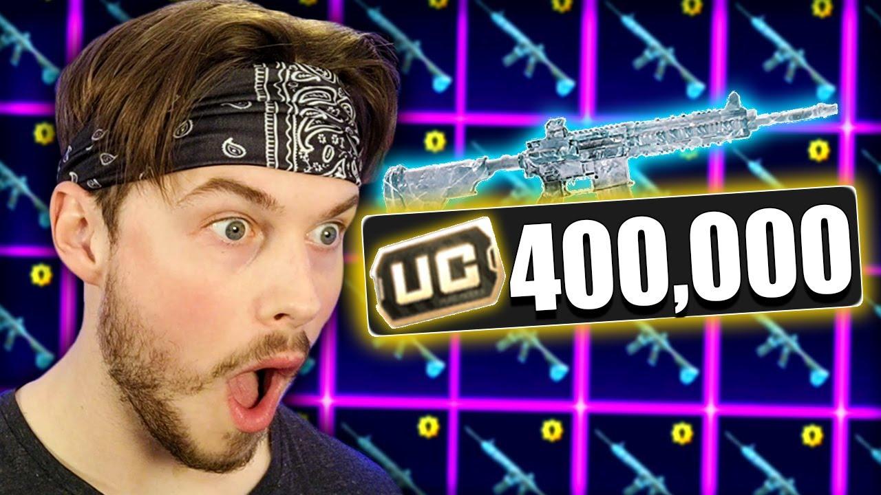 400,000 UC for M4 GLACIER 😭😱
