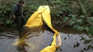 barrière réserve deci rivière watergate sdis orne
