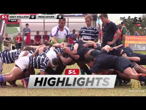 Paarl Gim U16 Tournament Highlights: Grey Kollege U16A XV vs Menlopark U16A XV