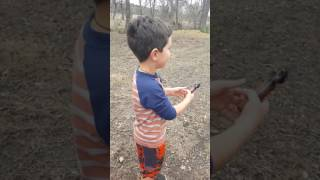 Shooting a 38 Caliber Revolver for the FIRST TIME