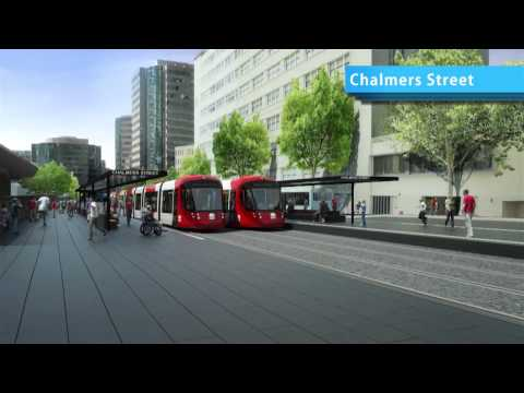 Sydney's Light Rail Future Designed by HASSELL