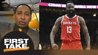 Stephen A. Smith wants James Harden for MVP He is nothing short of sensational First Take ESPN