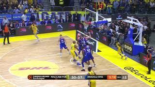 EuroLeague 7. Hafta: Maccabi FOX Tel Aviv - Anadolu Efes