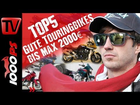 Top 5 - Gute Touringbikes bis maximal 2000 Euro - Motorrad Gebrauchtkauf