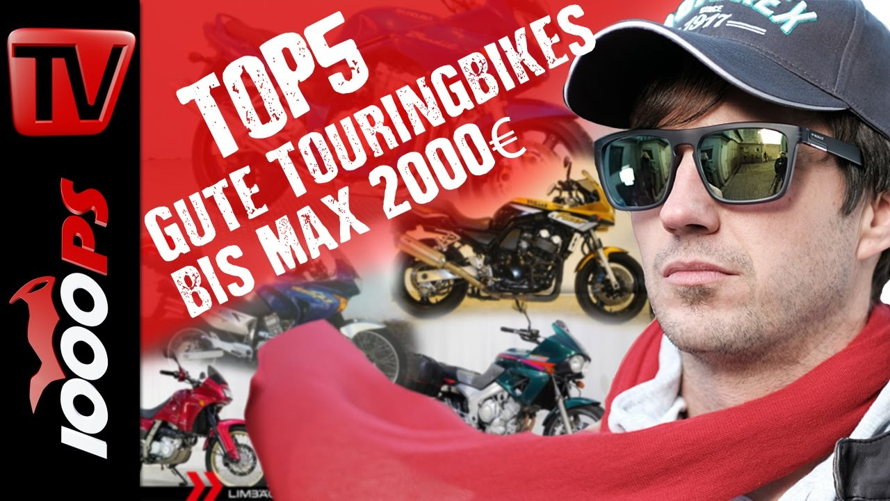 top 5 gute touringbikes bis maximal 2000 euro motorrad. Black Bedroom Furniture Sets. Home Design Ideas