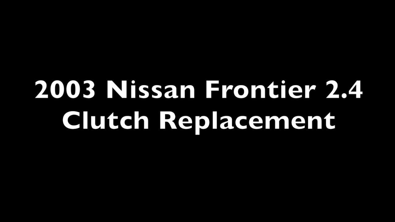 nissan frontier clutch adjustment