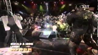 """Gerald & Eddie Levert: """"Baby Hold On To Me"""" (Live) 1998"""