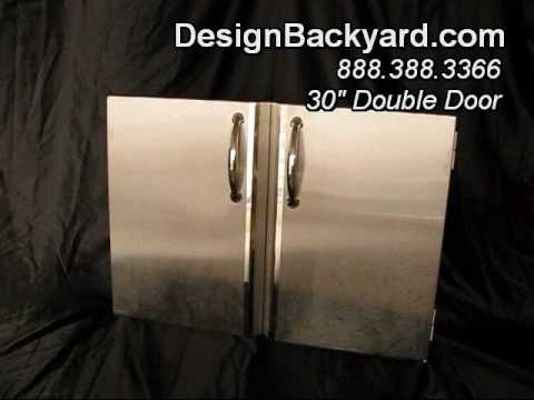 Designbackyard - 304 Stainless Steel Outdoor Kitchen