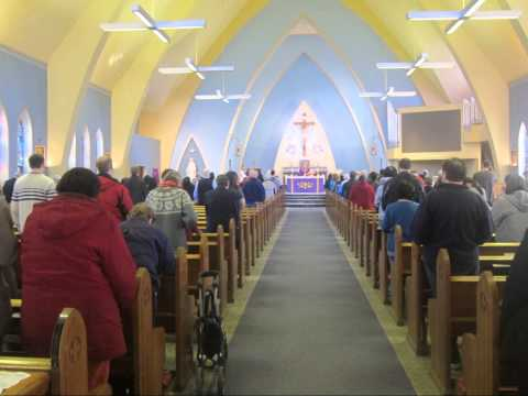 Where Love Is Found - Photos from the Pro Life Mass at Saint Mary's